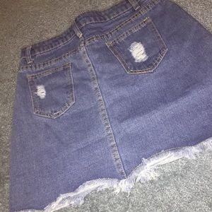 ROMWE Skirts - ❤️denim skirt ❤️